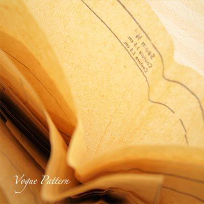 アメリカ 1960年代 ヴィンテージ 洋服の型紙 VOGUE Pattern【Red×monotone】【画像4】