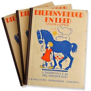 ビンテージ/アンティーク本 オランダ 1967年 Dierenvreugd en leed(ビンテージ本)