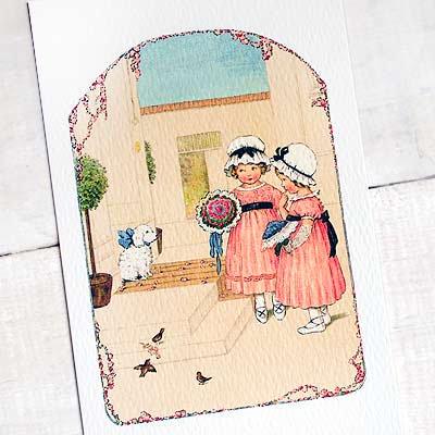 フランスポストカード (bouquet)