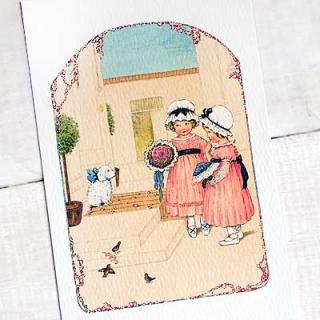 フレンチポストカード フランスポストカード (bouquet)