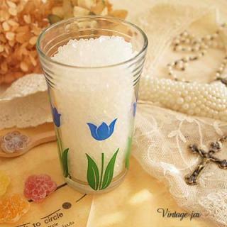 陶器 食器 USA スワンキーグラスSwanky Swigs kiddle  Tulip【Blue】