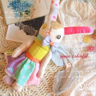 Creators/ハンドメイド カラフルバニー 【Colorful bunny】〜yuria手芸店