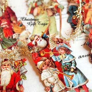 ドイツ クロモス【タグ】<サンタと子供たち B-type>