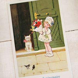 フレンチポストカード  フランスポストカード (Joyeux anniversaire I)