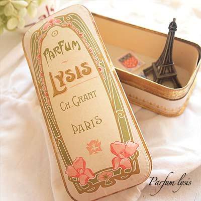 フランス 1900年代 アンティーク パフュームボックス【画像4】