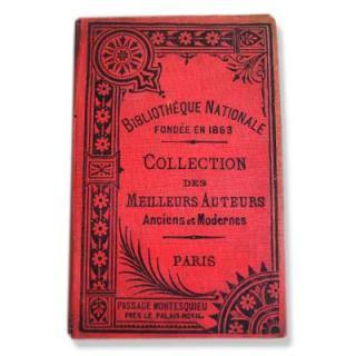 アンティーク・ヴィンテージ本 フランス Bibliotheque nationale【B】(ビンテージ本)