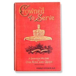 ビンテージ/アンティーク本 イギリス Crowned to Serve (ビンテージ本)