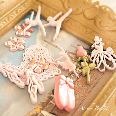 Dress It Up ボタン&パーツSet(At the Ballet)【画像3】