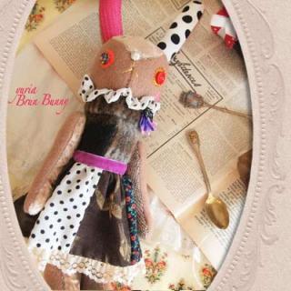 Creators/ハンドメイド ブランバニー (31.5cm)【brun bunny】〜yuria手芸店