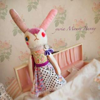 Creators/ハンドメイド モーヴバニー(29.5cm)【mauve bunny】〜yuria手芸店