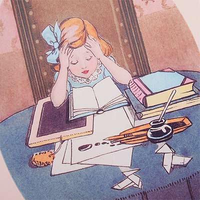 フランスポストカード(J'etudie)【画像3】