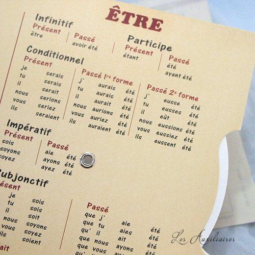 フランス製 フランス語 勉強表【画像6】