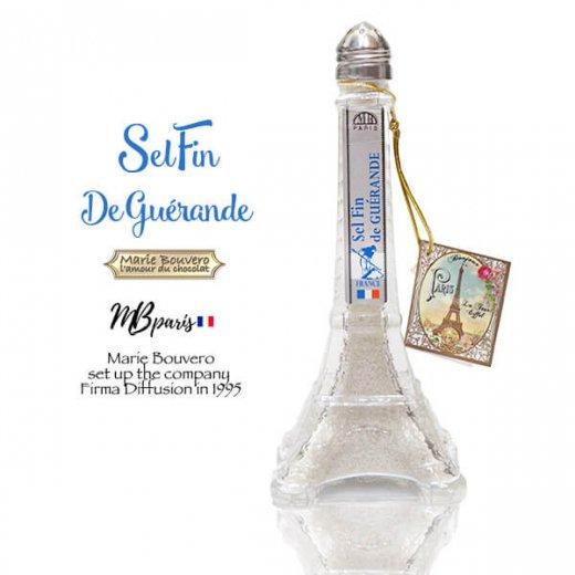 フランス Marie Bouvero エッフェル塔ボトル【ゲランドの塩・ホワイト】