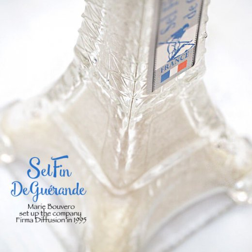 フランス Marie Bouvero エッフェル塔ボトル【ゲランドの塩・ホワイト】【画像3】