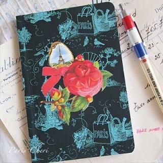 メモ帳・ノート フランス 輸入ノート ParisCheri【Rose Paris】