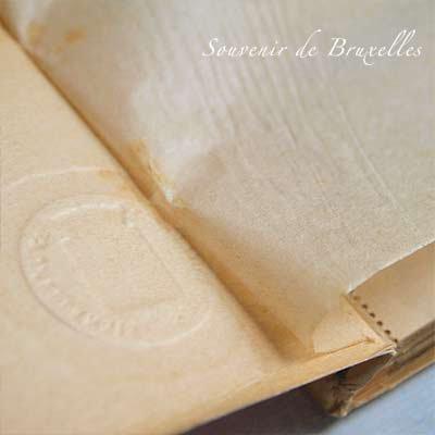 ベルギー ヴィンテージ ポストカード【ブリュッセルからのお土産 souvenir スーベニール】【画像3】