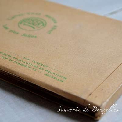 ベルギー ヴィンテージ ポストカード【ブリュッセルからのお土産 souvenir スーベニール】【画像4】