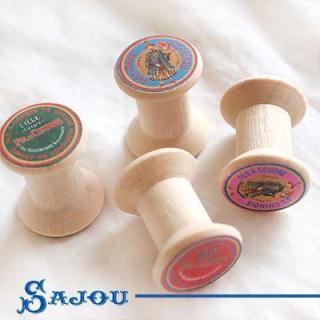 糸巻き フランス SAJOU (木製ボビン 糸巻き)【BOB-7】