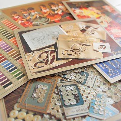 フランス SAJOU ポストカード6枚セット【Merc】