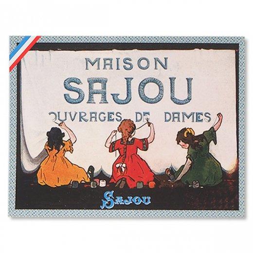 フランス SAJOU ポストカード【cpumaison】
