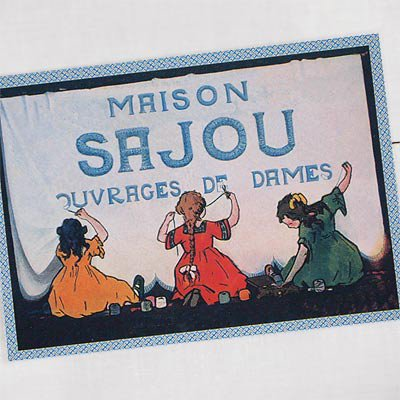 フランス SAJOU ポストカード【cpr-9 cpumaison】【画像2】