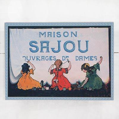 フランス SAJOU ポストカード【cpr-9 cpumaison】【画像3】