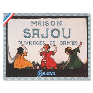 SAJOU(サジュー)手芸 フランス SAJOU ポストカード【cpr-9 cpumaison】