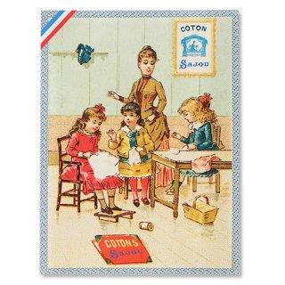 ポストカード フランス SAJOU ポストカード【cpu-5 cpucoton】