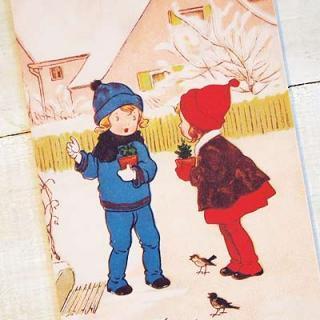 フレンチポストカード フランスポストカード (Plante en pot)