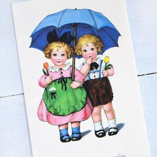 バースディー フランスポストカード (Joyeux anniversaire K)