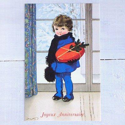 フランスポストカード (Joyeux anniversaire N)【画像2】