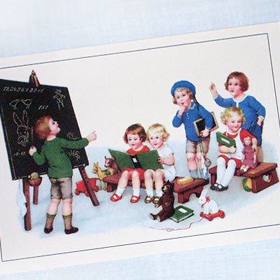 フランスポストカード(J'etudie B)