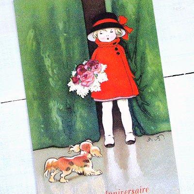 フランスポストカード(Joyeux anniversaireQ)