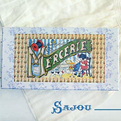 フランス SAJOU ストレージボックス 裁縫箱【mercerie】【画像2】