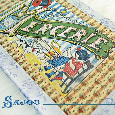 フランス SAJOU ストレージボックス 裁縫箱【mercerie】【画像3】