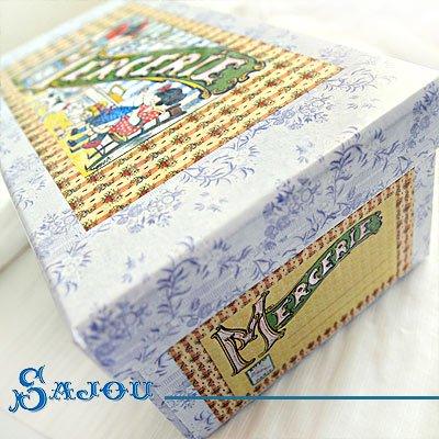 フランス SAJOU ストレージボックス 裁縫箱【mercerie】【画像4】