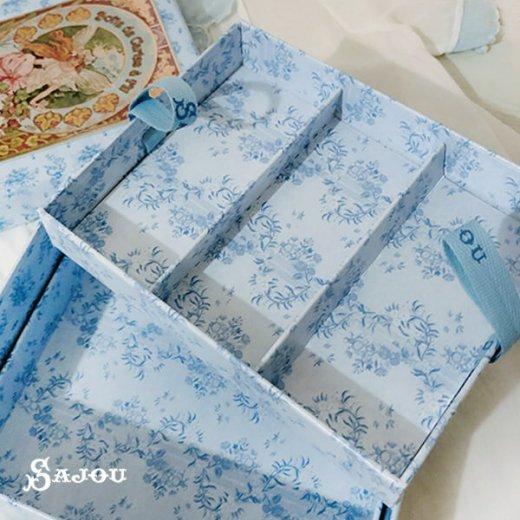 フランス SAJOU ストレージボックス 裁縫箱【FIL de LIN】【画像4】