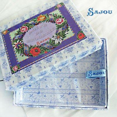 フランス SAJOU ストレージボックス 裁縫箱【fleur】【画像2】