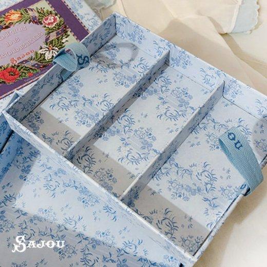 フランス SAJOU ストレージボックス 裁縫箱【fleur】【画像4】