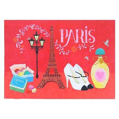 フランス エッフェル塔 ポストカード (Nos souvenirs de Paris E-type)