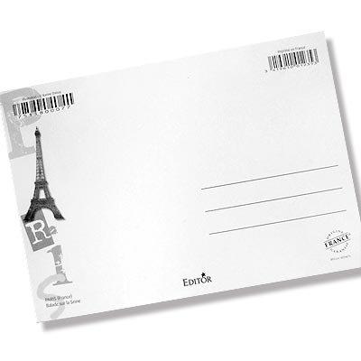 フランス エッフェル塔 ポストカード (Nos souvenirs de Paris E-type)【画像4】