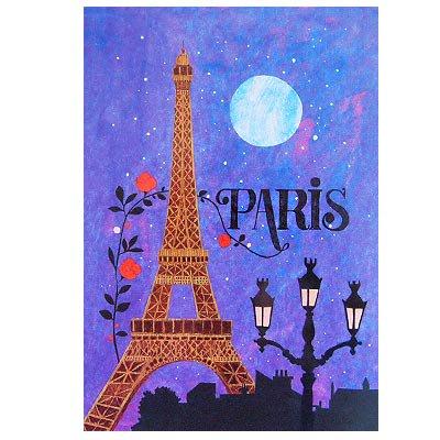 フランス エッフェル塔 ポストカード (Nos souvenirs de Paris D-type)