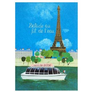 フランス エッフェル塔 ポストカード (Nos souvenirs de Paris C-type)