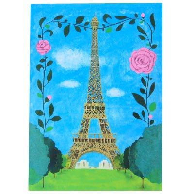 フランス エッフェル塔 ポストカード (Nos souvenirs de Paris B-type)