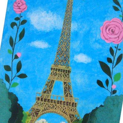 フランス エッフェル塔 ポストカード (Nos souvenirs de Paris B-type)【画像3】