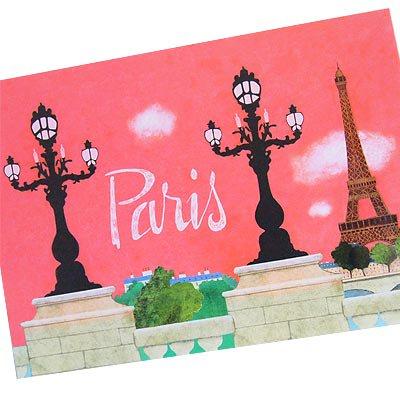 フランス エッフェル塔 ポストカード (Nos souvenirs de Paris A-type)【画像2】