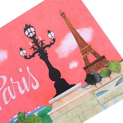 フランス エッフェル塔 ポストカード (Nos souvenirs de Paris A-type)【画像3】