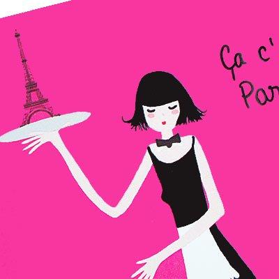 フランス エッフェル塔 ポストカード(Ca, c'est Paris! A-type)【画像3】