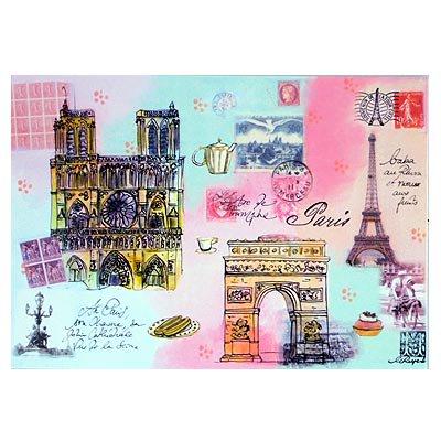 フランス エッフェル塔 ポストカード(J'aime Paris A)