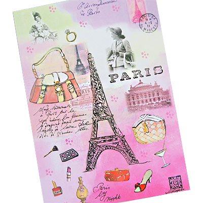 フランス エッフェル塔 ポストカード(J'aime Paris B)【画像2】